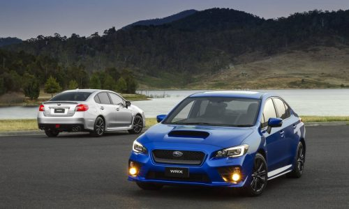 2015 Subaru WRX on sale in Australia from $38,990