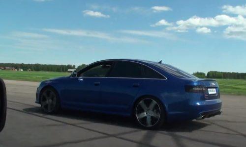 700hp Audi RS 6 vs E30 BMW M3 V10
