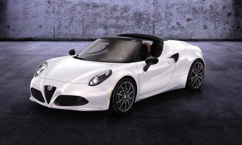 Alfa Romeo 4C Spider confirmed, enters production in 2015