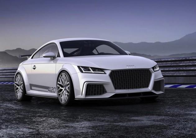 Audi TT quattro sport concept-nose