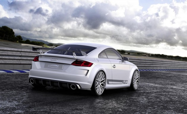 Audi TT quattro sport concept-rear