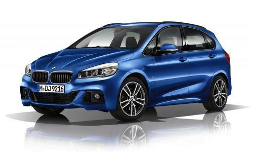 BMW 2 Series Active Tourer M Sport revealed