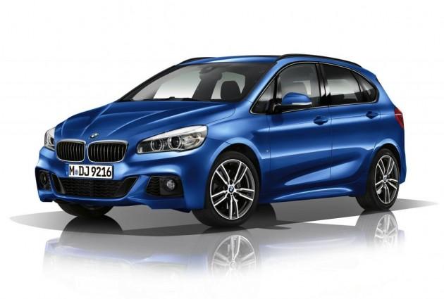 BMW 2 Series Active Tourer M Sport-blue