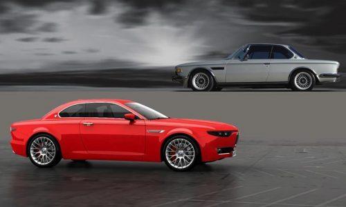 BMW CS Vintage Concept recreates classic E9