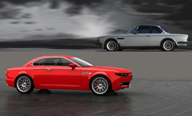 BMW CS Vintage Concept-E9