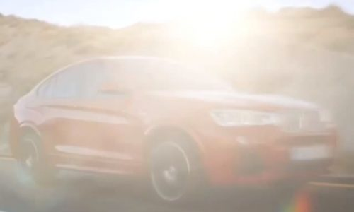 BMW X4 production version debuting at Geneva (video)