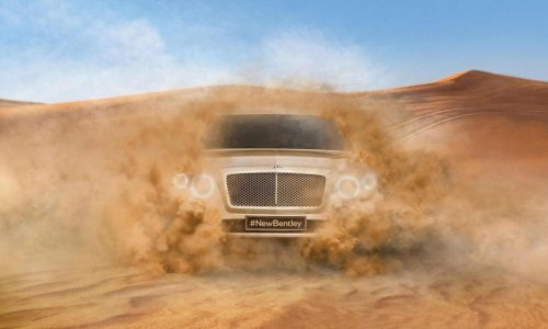 """Bentley SUV confirmed, """"most powerful"""" on the market"""