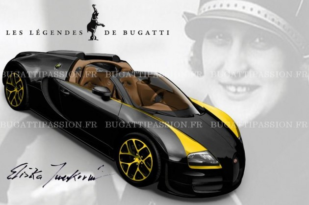Bugatti Veyron Grand Sport Vitesse Elizabeth Junek edition
