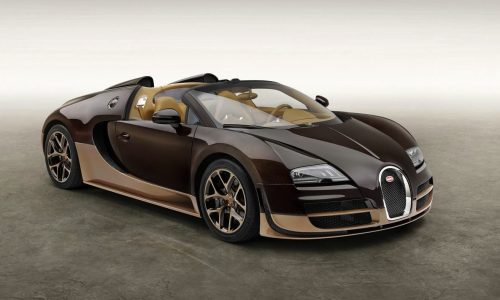 Rembrandt Bugatti Veyron Vitesse 'Legends' edition revealed