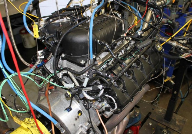 Ford Racing supercharger for 2015 Mustang GT