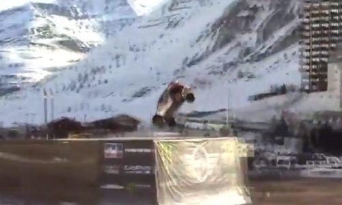 Guerlain Chicherit face-plants world record attempt (video)