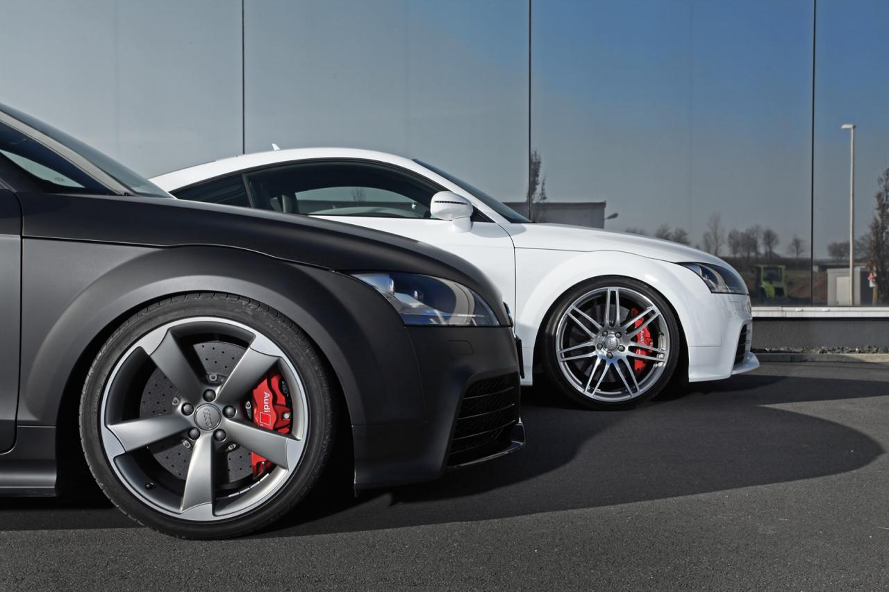 HPerformance tunes the Audi TT RS, 700hp coming ...