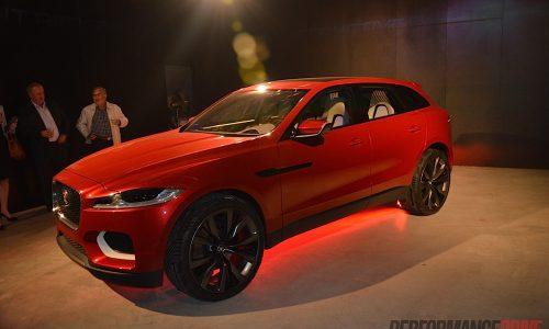 Jaguar C-X17 concept makes its Australian debut