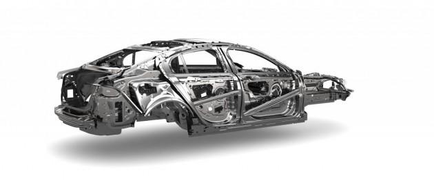 Jaguar XE monocoque-rear
