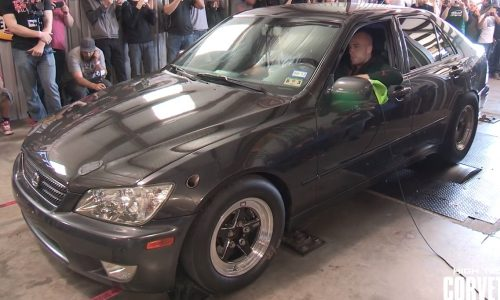 Lexus IS 300 with TT V8 conversion hits the dyno