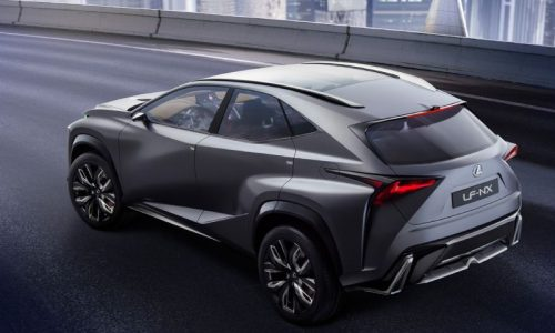 Lexus NX production version will debut at Beijing show