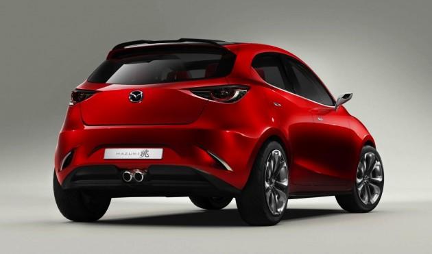 Mazda Hazumi concept-rear