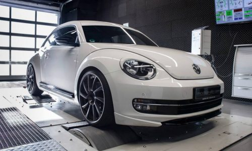 McChip boosts the Volkswagen Beetle, ABT styling