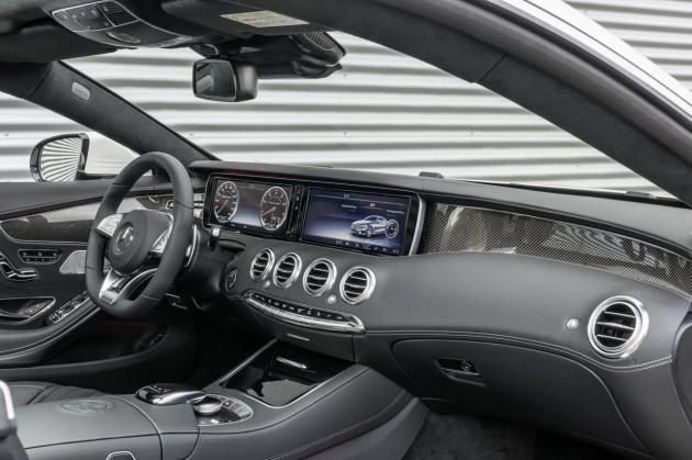 Mercedes-Benz S 63 AMG Coupe-dash