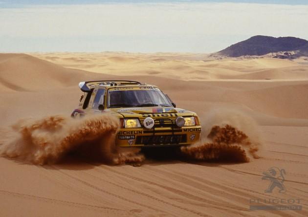Peugeot 205 Dakar rally