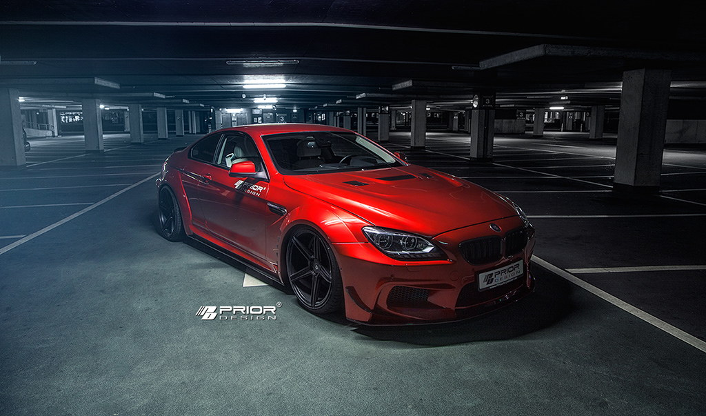Prior Design Widebody Aerodynamic-Kit for BMW 6 Series ...