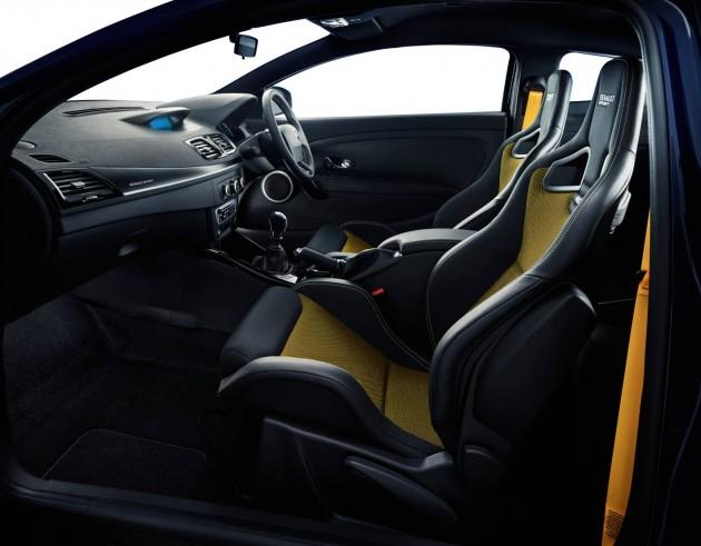 Renault Megane RS265 Sport Limited Editon interior