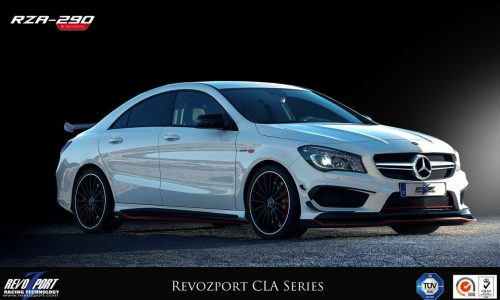 RevoZport RZA-290 kit announced for the Mercedes CLA