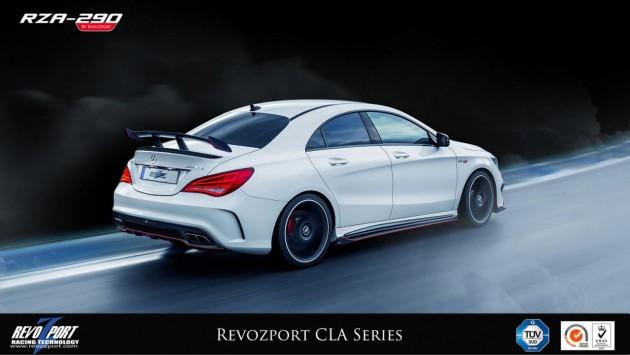 RevoZport RZA-290 Mercedes-Benz CLA-Class-driving