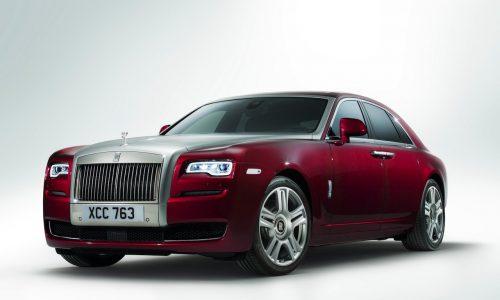Rolls Royce Ghost Series II unveiled at Geneva