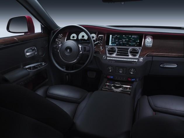 Rolls Royce Ghost Series II interior