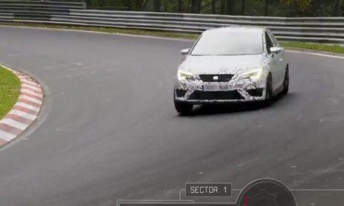 SEAT Leon Cupra 280 breaks Nurburgring FWD lap record