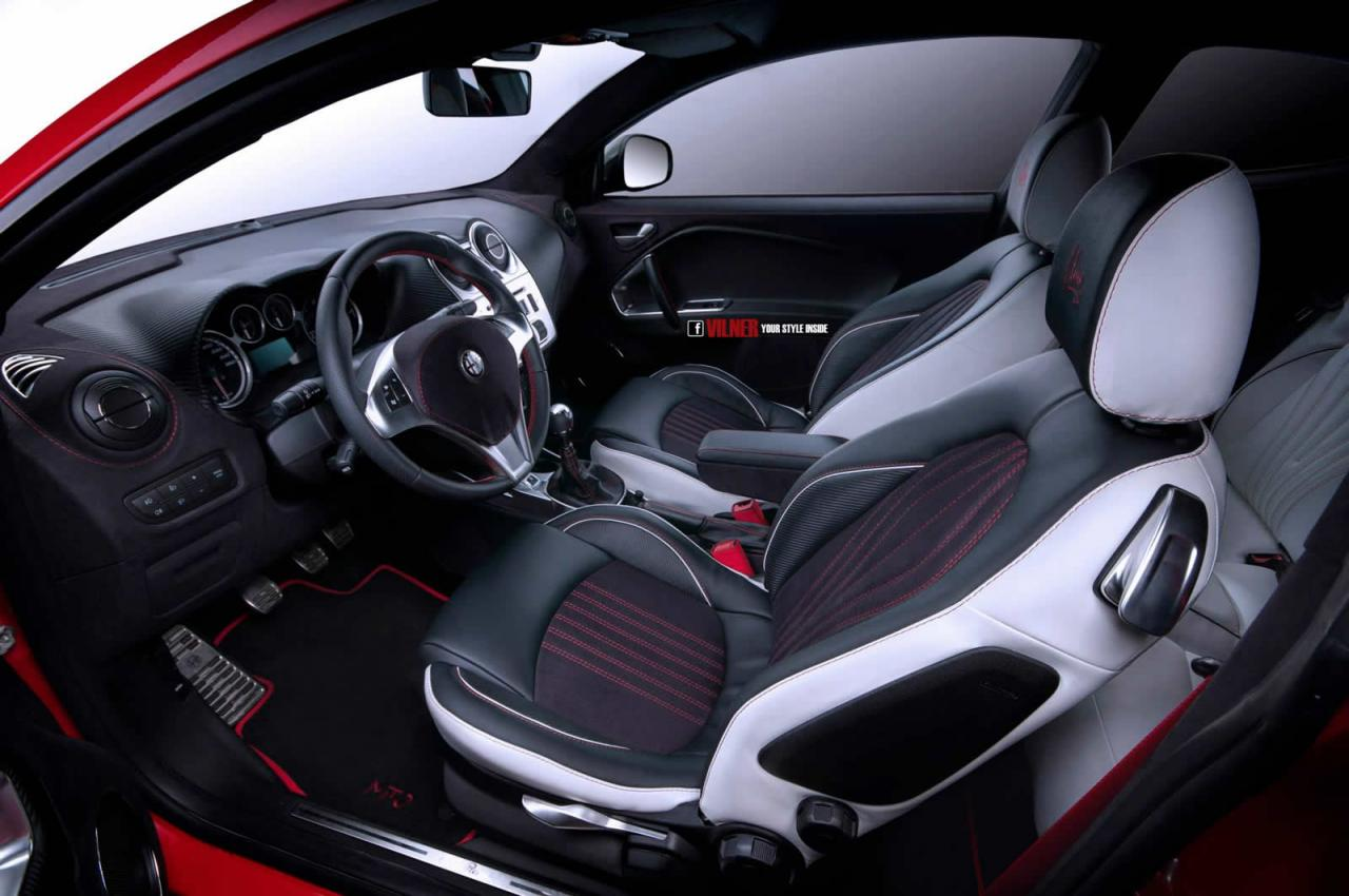 Vilner Tunes The Alfa Romeo Mito More Power Amp Looks