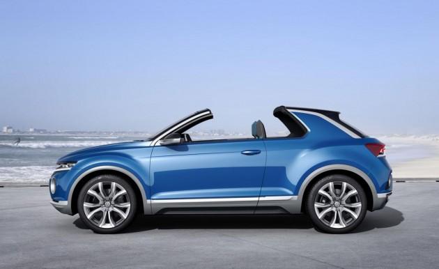Volkswagen T-ROC concept-roof off
