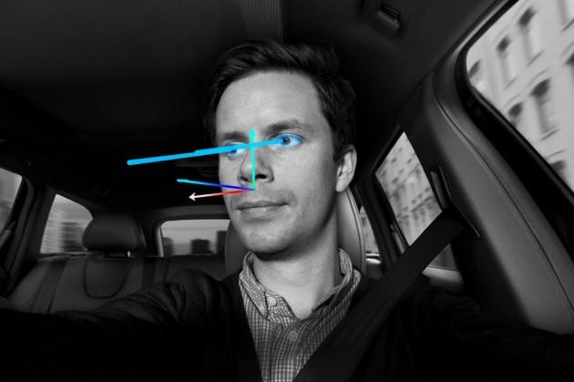 Volvo State Estimation face sensor