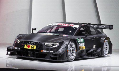 2014 Audi RS 5 DTM racer revealed at Geneva Motor Show