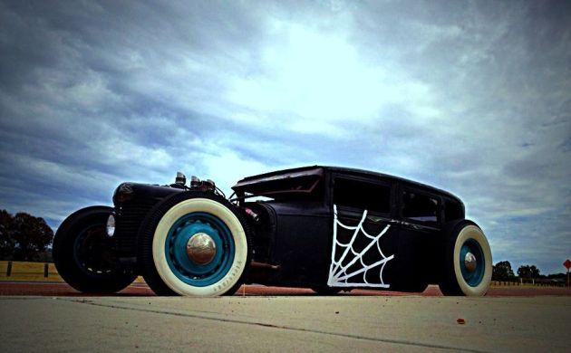 1928 Ford Tudor rat rod hot rod