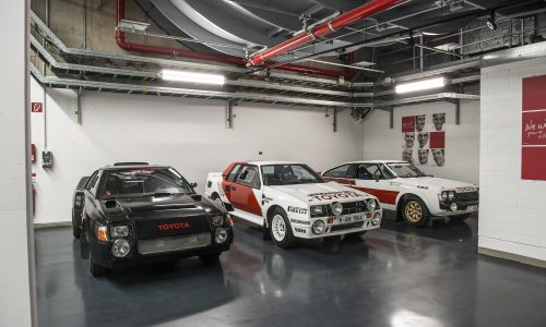 Awesome 1980s & '90s Toyota rally car collection