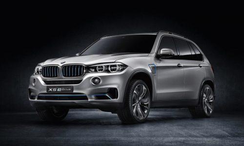 New BMW Concept X5 eDrive revealed