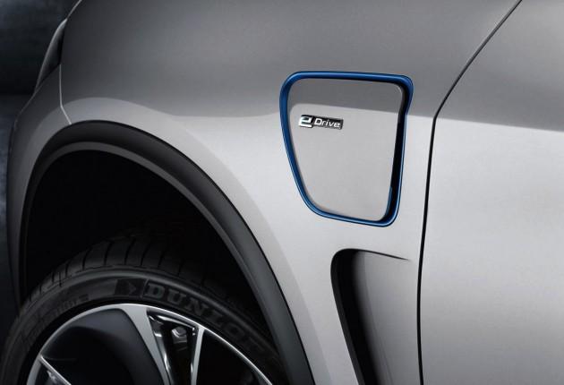 2014 BMW Concept X5 eDrive-badge