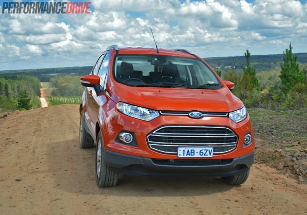 2014 Ford EcoSport Titanium-front grille