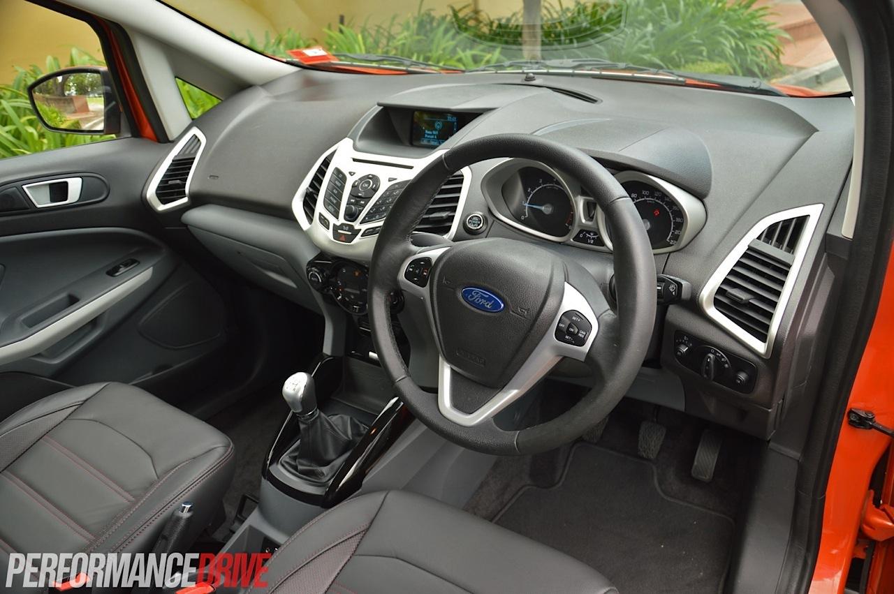 2014 Ford Ecosport Titanium Interior
