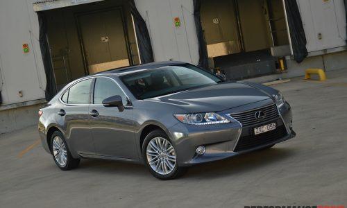2014 Lexus ES 350 Sports Luxury review (video)