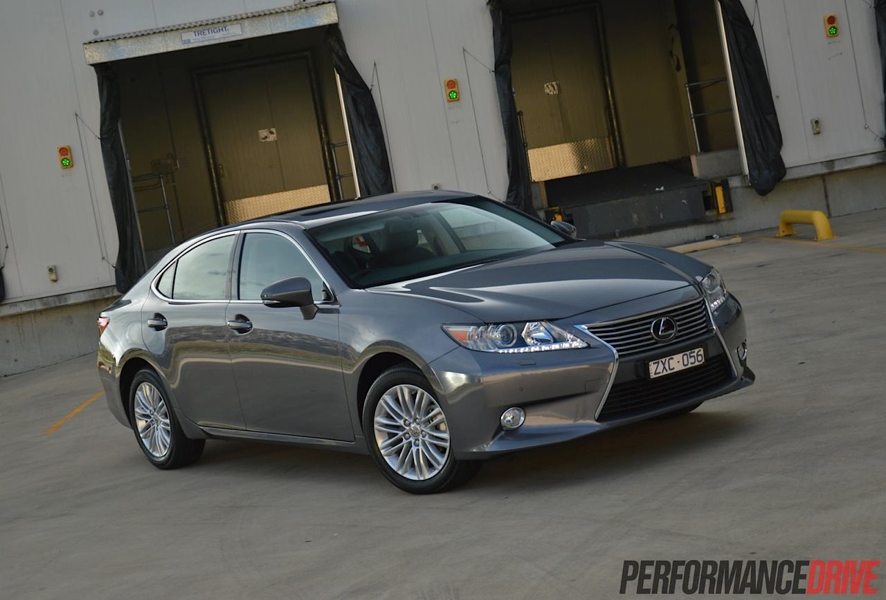 2014 Lexus ES 350 Sports Luxury Mercury Grey