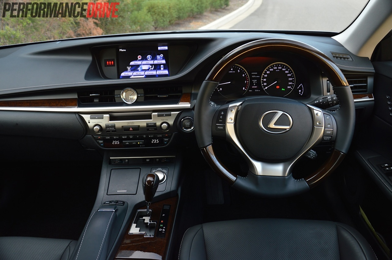 2014 Lexus Es 350 Sports Luxury Dash