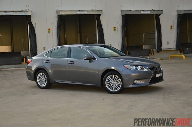 2014 Lexus ES 350 Sports Luxury-silver
