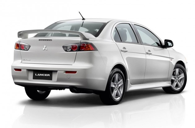 2014 Mitsubishi Lancer ES Sport Sedan rear