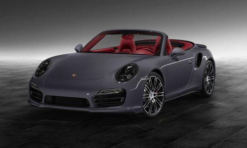 911 Turbo Cabrio showcases 'Porsche Exclusive' options
