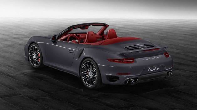2014 Porsche Exclusive 911 Turbo Cabrio-Slate Grey