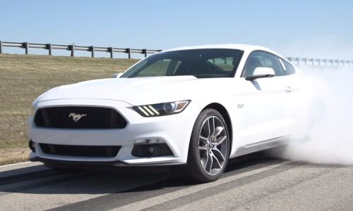 Video: 2015 Ford Mustang GT burnout app confirmed