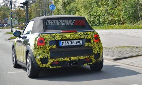 2015 MINI Cooper S Cabrio prototype spotted in Munich